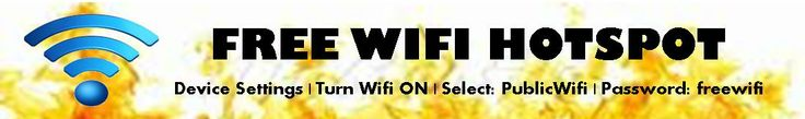 Free WiFi Hotspot - now available