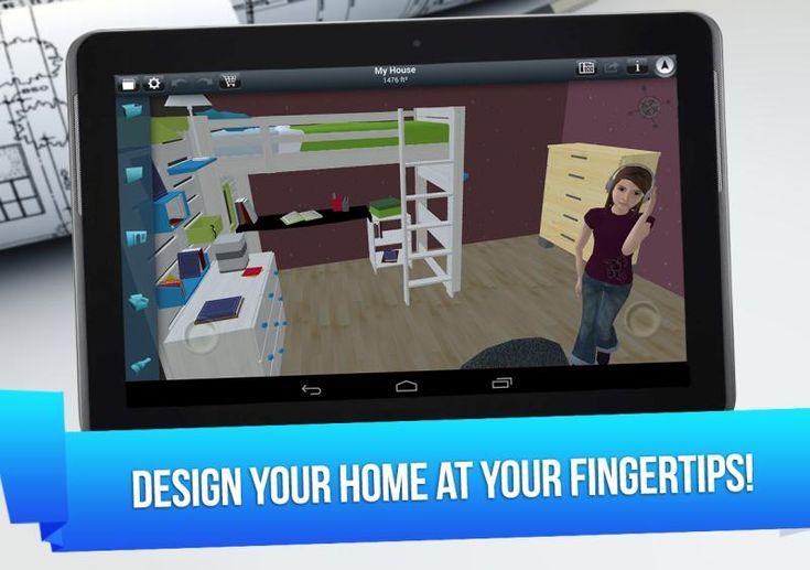 Home design 3d dise o de interiores en 3d desde tu - App para diseno de interiores ...