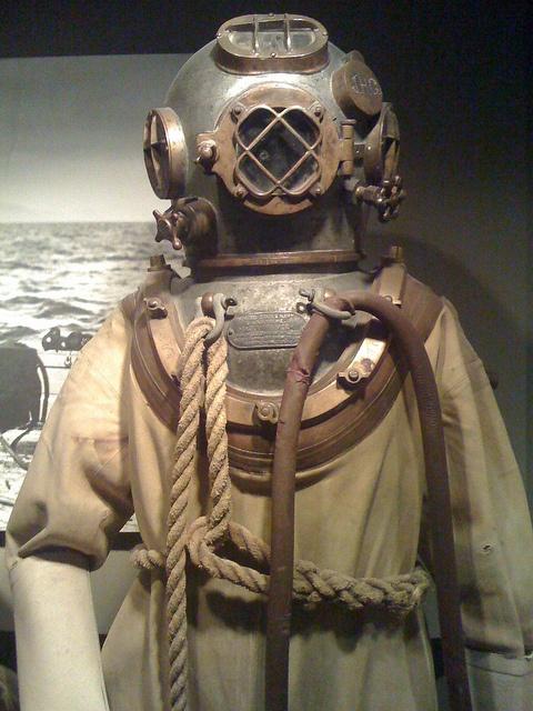 deep sea diving suit by JPearre, via Flickr