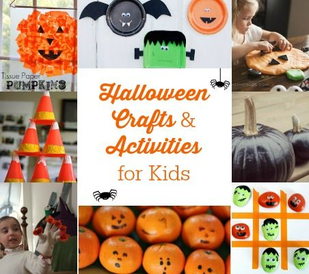 "Super fun ideas here! Love those clementine ""pumpkins"" and love the games, too!"