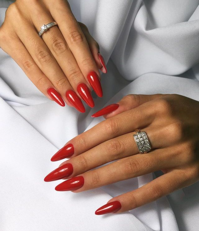Red Stiletto Nails: Best 20+ Long Stiletto Nails Ideas On Pinterest