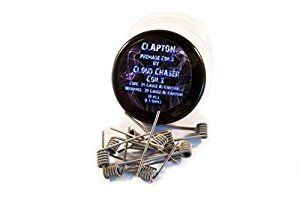 Pre-made Premium Clapton Coils by Cloud Chaser Coils for RDA RDTA and RBA 10 coils per tub. (Clapton Core 24G Wrapped 30G A1 Kanthal 0.4 Ohms): Amazon.co.uk: Health & Personal Care