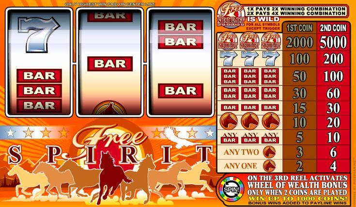 Free Spirit - http://www.777online-slots.com/slot-machine-free-spirit-online/