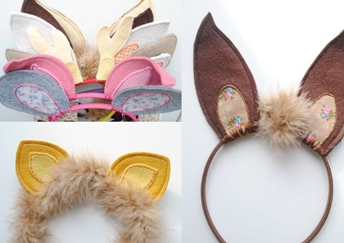 Diademas de animalitosAnimals, De Animalitos, Animal Ears, Oreille Animal, Animal, Disfres, Tutu Animal Costumes