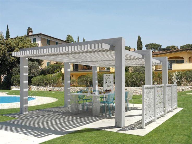 Pergolato in legno Pergola frangisole Collezione Outdoor Design Moderno by CAGIS