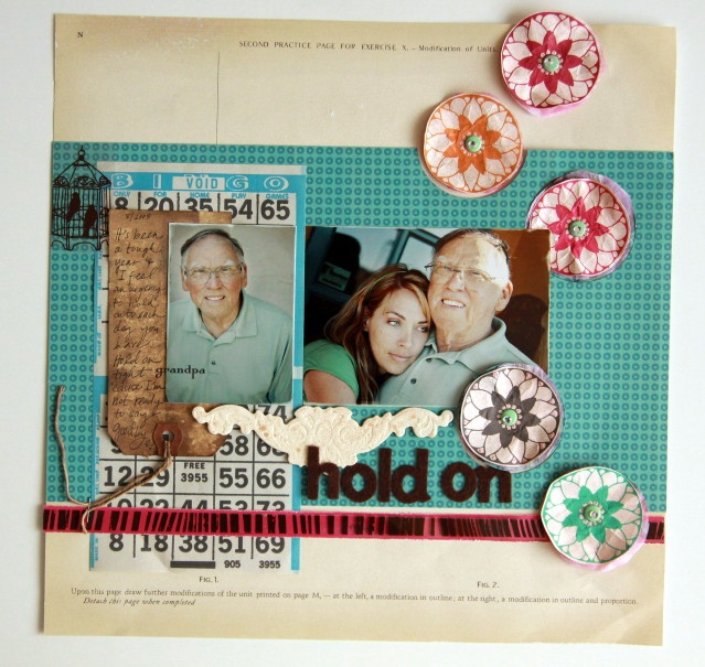 beautiful layout by Elizabeth Kartchner (my prayers to you and yours)