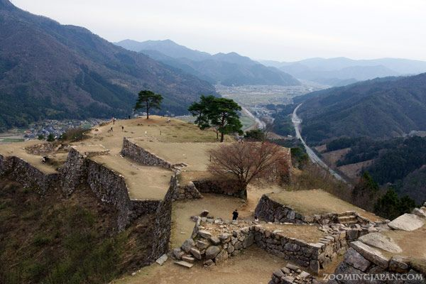"Takeda Castle is also known as ""The Castle in the Sky"" or ""Machu Picchu of Japan"""