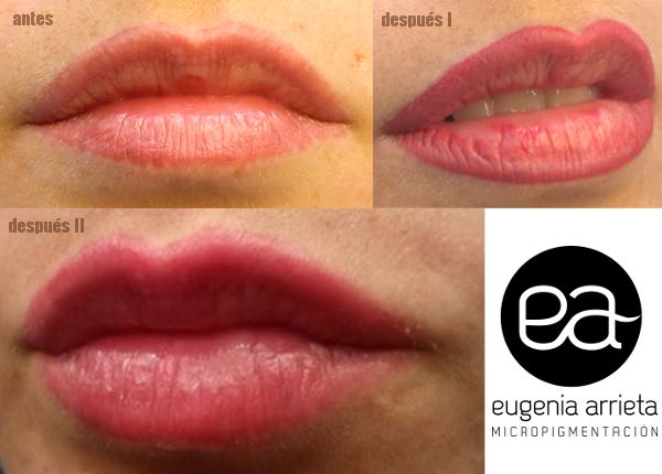 Micropigmentación de Labios. tatuaje maquillaje permanente permanent makeup