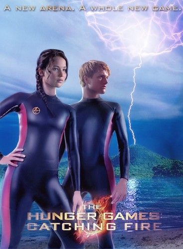 Katniss & Peeta- Catching Fire - catching-fire Photo