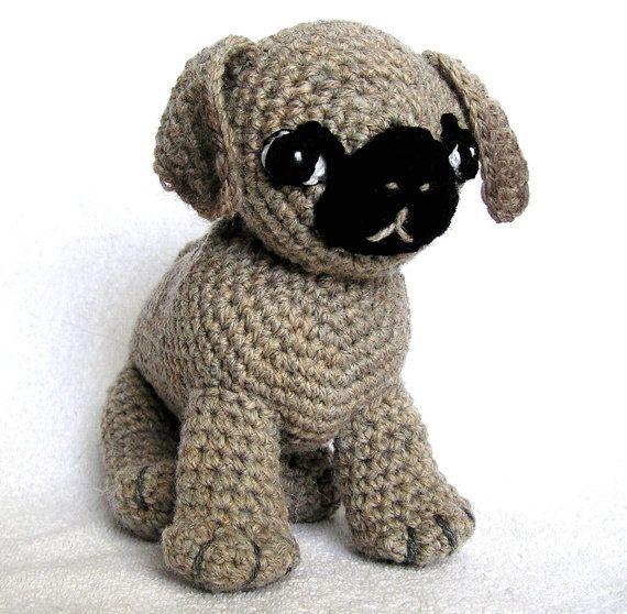 PDF Crochet Pattern un roquet nommé Ted par bvoe668 sur Etsy
