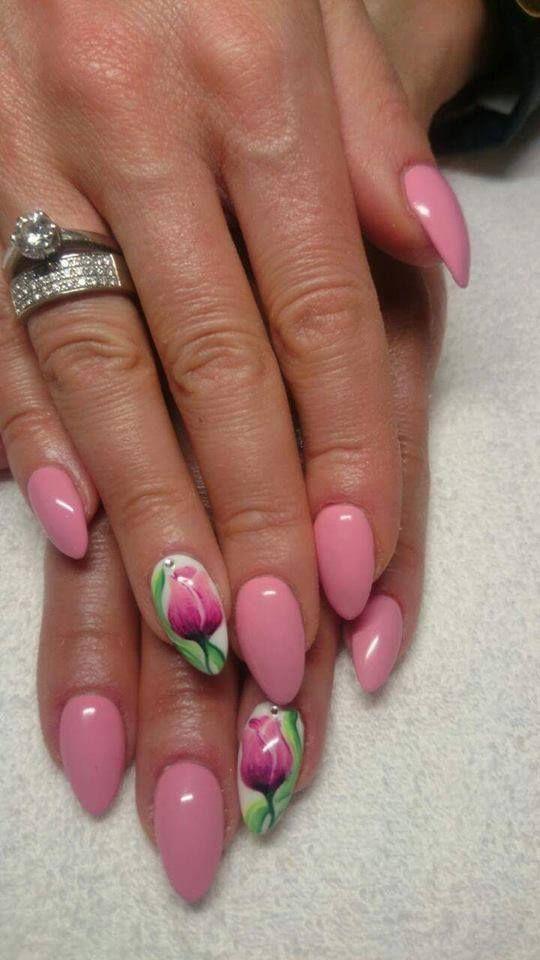 More Love Gel Polish by Monika Starzyk #nails #nail #indigo #pink #love #omg #wow #paznokcie #pazurki