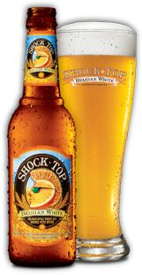 Shock Top - tried this one out at my sister's wedding. Definitely tasty! It's another great wheat - citrus combo, if you're looking for something like Blue Moon.