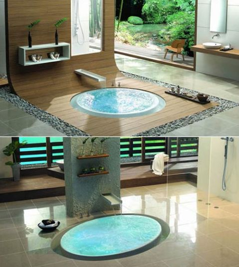Dive Into This Zen Pool House With Rustic Flair: Best 20+ Sunken Bathtub Ideas On Pinterest