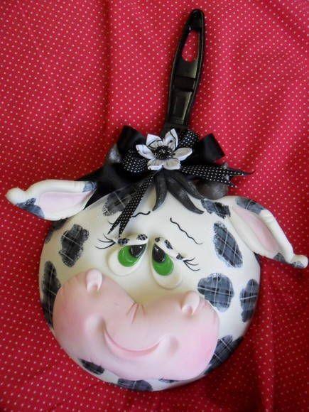 vaquihna Peça Decorativa para Cozinha, vaca, cow