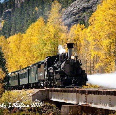 Durango Silverton Train (CO). Honeymoon idea? Then go through Portland after