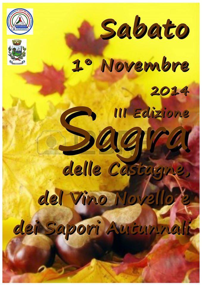 Rodi: terza edizione della sagra della castagna e del vino novello - http://blog.rodigarganico.info/2014/eventi/rodi-terza-edizione-sagra-castagna-vino-novello/