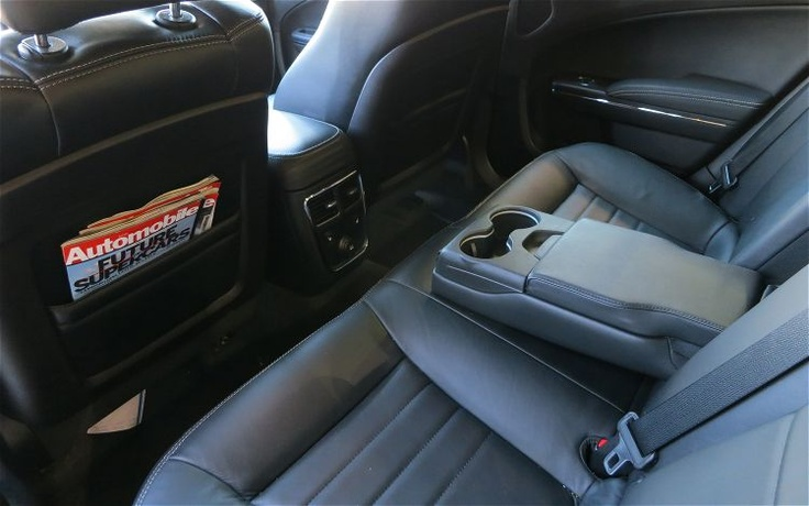 2012 Dodge Charger SXT Plus Rear Seating