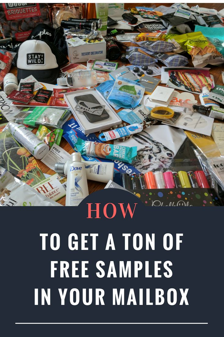 Freebies free samples international