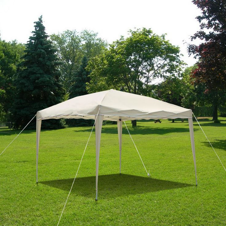 Our gazebo can shade sun & small rain for you and offer a cozy rest place.Only US$69.99, iKayaa 3*3*2.6M Folding Outdoor Garden Gazebo Canopy Tent - LovDock.com