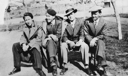 Orhan Veli, Şinasi Baray, Oktay Rifat, Melih Cevdet