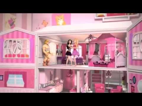 Casa da Barbie - Como fazer um Banheiro completo! - YouTube