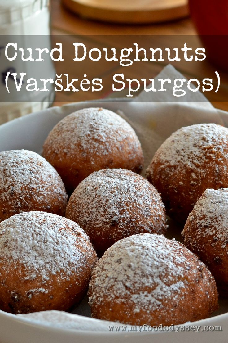 247 best lithuanian cuisine images on pinterest lithuanian food my recipe for lithuanian curd cheese doughnuts varskes spurgos light crisp and forumfinder Gallery