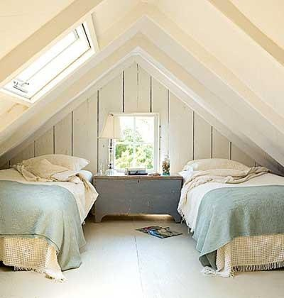 More inspiration for my new attic bedroom