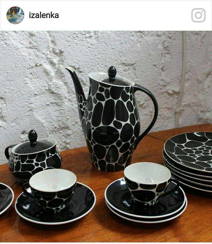Coffee set Irena by Chodziez. Picture by @izalenka taken from Instagram