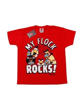 Koszulka Angry Birds My Flock Rocks!