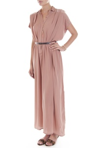 This gorgeous Maxi Dress by Thurley would look great with paired with a Tan Leather Look Hair Band!