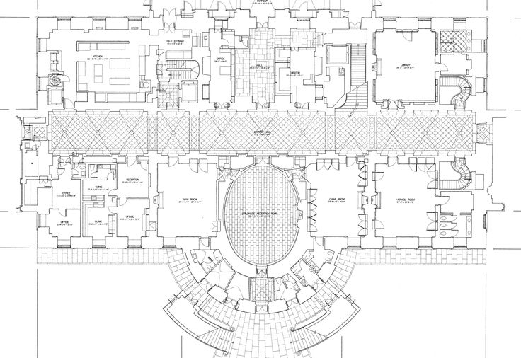 The White House, 1600 Pennsylvania Avenue - Ground Floor