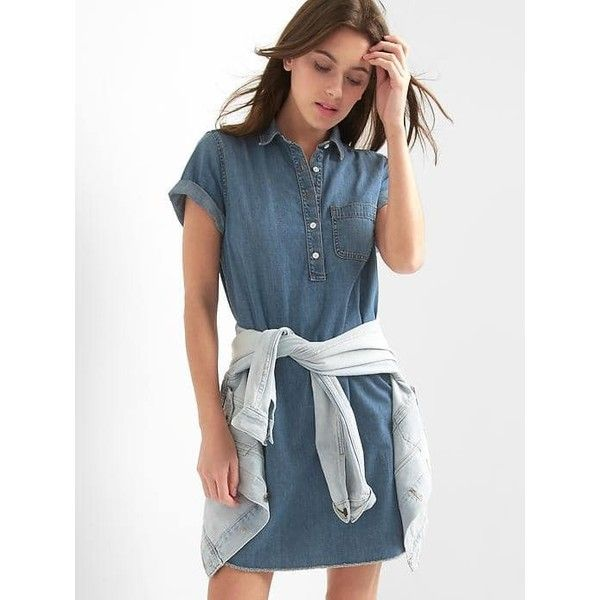 0c647f5849e Best 25+ Long denim dress ideas on Pinterest