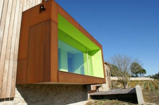 Extreme Renovation! Mas Rodo WInery, Sala Ferusic, an eco winery which went through a  green renovation.The Historic Spainish  renovation was transformed into an energy efficient winery.
