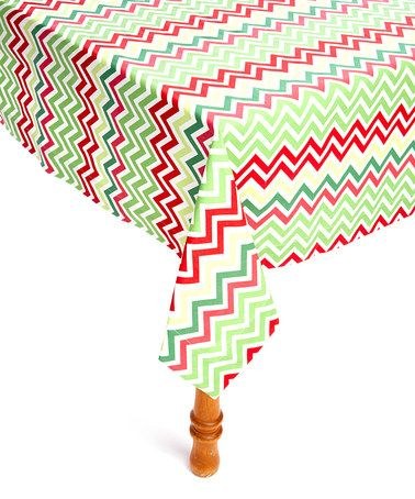 Another great find on #zulily! Chevron Tablecloth #zulilyfinds
