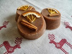 Narancsos-fahéjas szappan - Hand made soap with orange and cinnamon