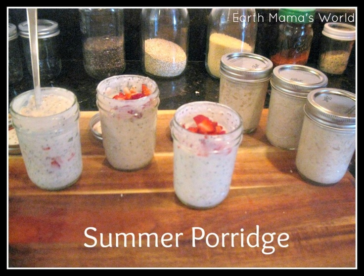 Summer Porridgehttp://www.earthmamasworld.com/summer-porridge/
