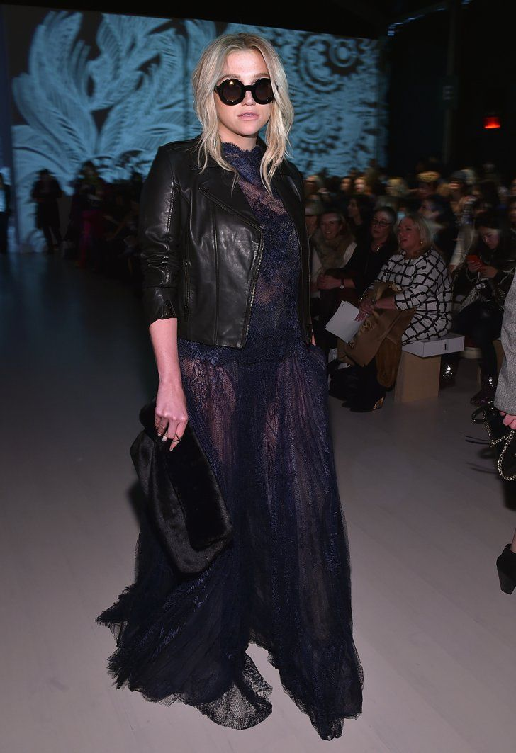Pin for Later: Les Stars Sont au premier Rang Pour la Fashion Week de New York  Au défilé Tadashi Shoji.