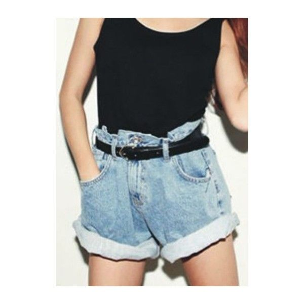 high waisted shorts designs - photo #38