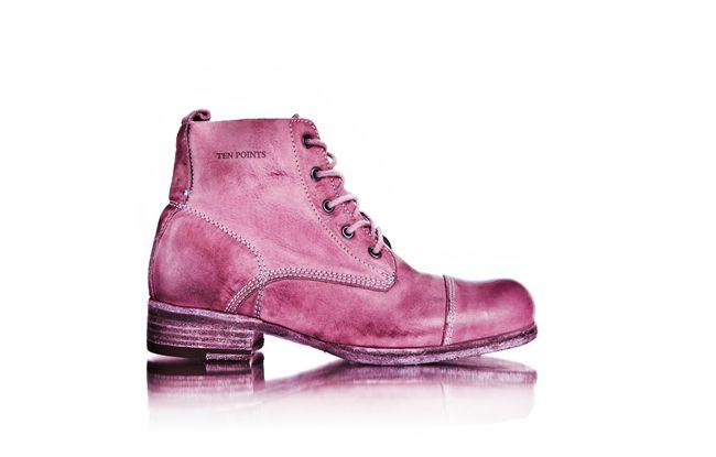 Pink boots Ten Points Sweden