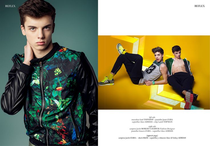 Twin Brothers Dominik & Rafael Starmach for Reflex Homme image Duo Games 002