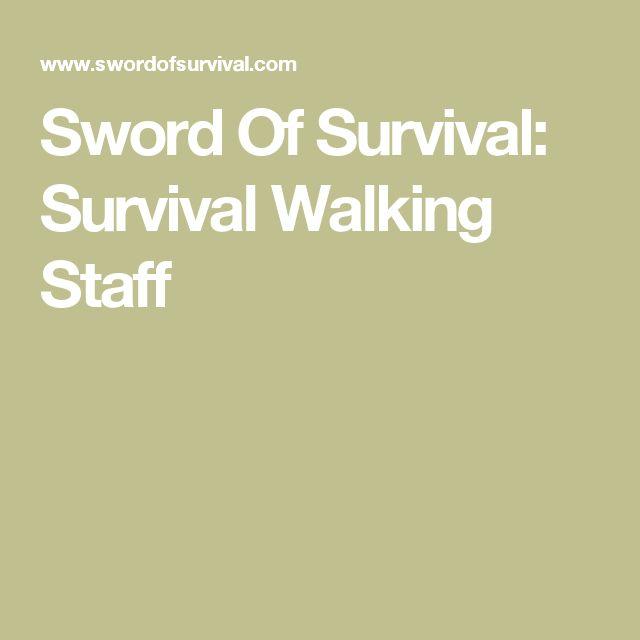 Sword Of Survival: Survival Walking Staff