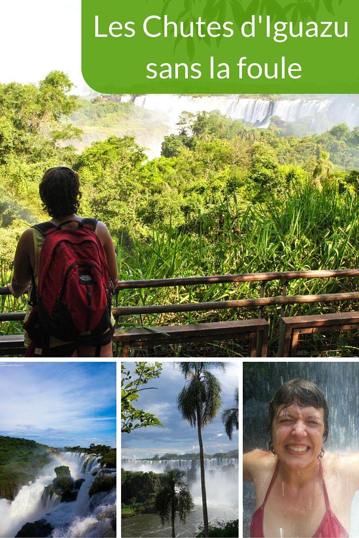 Les Chutes d'Iguazu sans la foule
