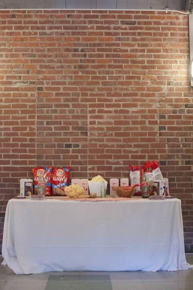 sports themed wedding station, baseball themed wedding food