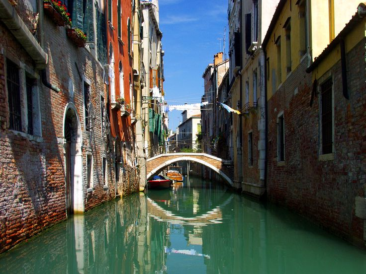 Venice. The inspiration for Vermillion, the capital city of the Empire of Arkaym.