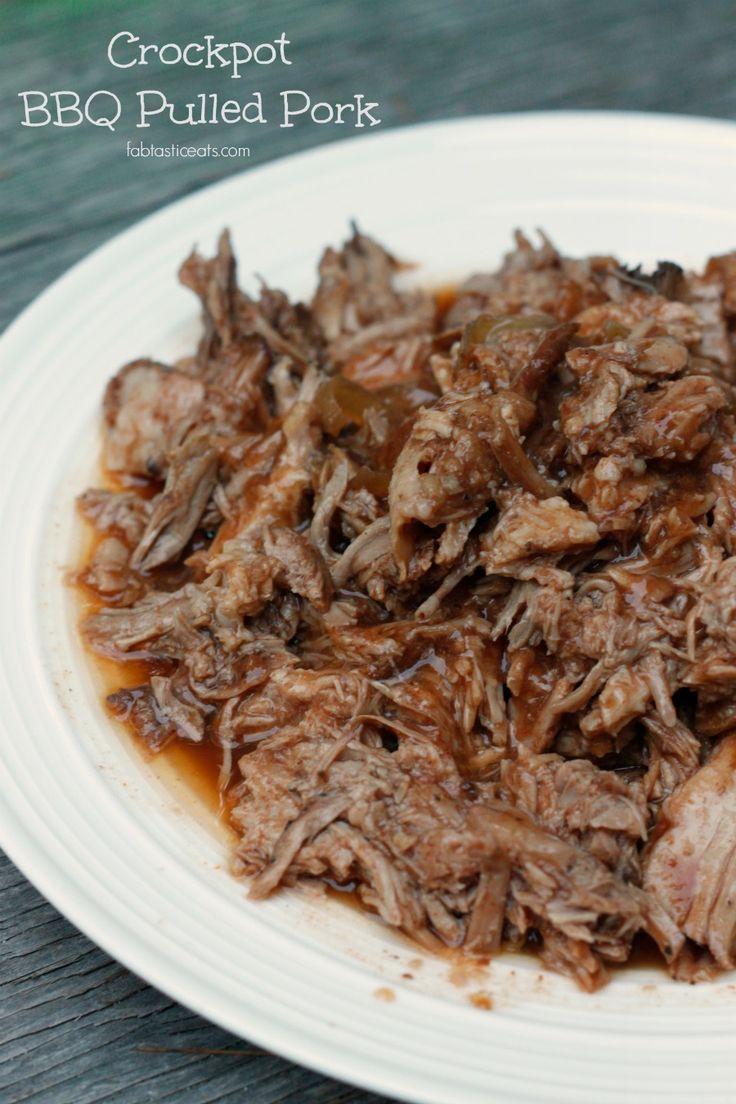 5 Minute Crock-Pot BBQ Pulled Pork   Fabtastic Eats