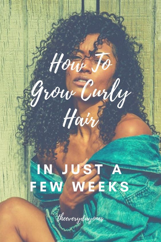 Curly Hair Growth In Six Months Or Less Curly Hair Curly