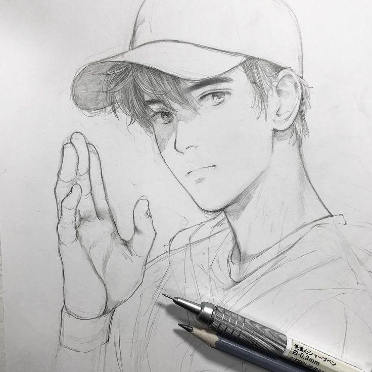 Крутые рисунки простым карандашом мальчиков