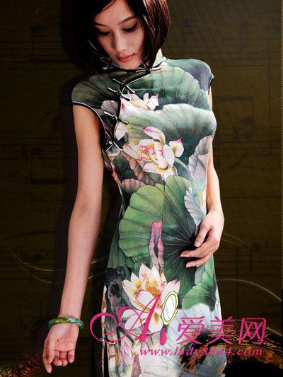 旗袍,美体,时尚服饰