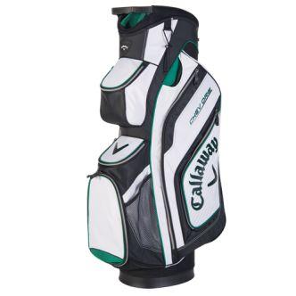 Bolsa de palos de golf Callaway Chev Org. Bolsa de golf Callaway Chev Org para carro. Cuenta con 14 divisores hasta la base. Varios bolsillos, uno grande para la ropa, otro para bebidas y accesorios.