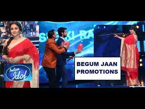 Indian Idol Season 9- BEGUM JAAN Promotions- Vidya Balan To Shoot Karan ...